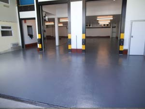 Completed dairy floor restoration into cold storage