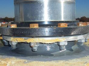Belzona 8211 (HP Anti-Seize) can also be used to prevent corrosion on threaded parts